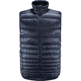 Haglöfs Essens Down bodywarmer Heren, dense blue/tarn blue